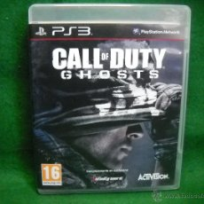 Videojuegos y Consolas: CALL OF DUTY GHOSTS PLAYSTATION 3 PS3. Lote 50063644