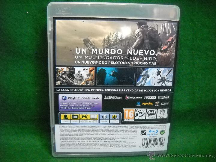 Videojuegos y Consolas: CALL OF DUTY GHOSTS PLAYSTATION 3 PS3 - Foto 2 - 50063644