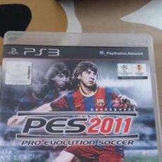 Videojuegos y Consolas: JUEGO PES 2011 PS3. Lote 51328546