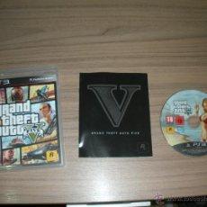 Videojuegos y Consolas: GTA GRAND THEFT AUTO V FIVE JUEGO PLAYSTATION 3 PAL ESPAÑA CASTELLANO. Lote 51485372
