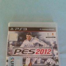 Videojuegos y Consolas: PRO EVOLUTION SOCCER 2012 (PES 2012) - PLAYSTATION 3 - PAL/ESP - CONTIENE MANUAL DE INSTRUCCIONES. Lote 52716483