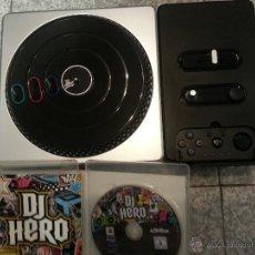 Videojuegos y Consolas: DJ HERO - CON MESA DE MEZCLAS + JUEGO CON MANUAL PARA PS3. Lote 52773784