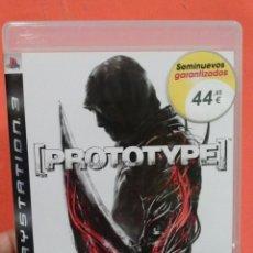 Videojuegos y Consolas: JUEGO PS3 PROTOTYPE . Lote 53060965