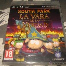 Videojuegos y Consolas: SOUTH PARK LA VARA DE LA VERDAD PS3 PAL ESPAÑA PRECINTADO - UBISOFT. Lote 53511642