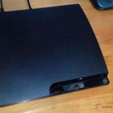 Videojuegos y Consolas: PLAY STATION 3 SLIM 120 GB + 9 JUEGOS + CABLES PERFECTO ESTADO SIN USO. Lote 53789815