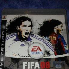 Videojuegos y Consolas: FIFA 08 - PLAYSTATION 3- INCLUYE GUÍA. Lote 53959573