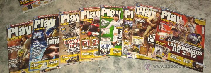 LOTE DE 9 REVISTAS PLAYMANIA - Nº 144 Y 149 A LA 156 (Juguetes - Videojuegos y Consolas - Sony - PS3)