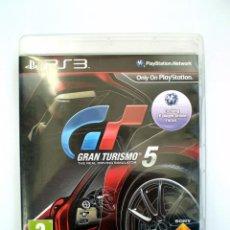 Videojuegos y Consolas: PS3 GRAN TURISMO 5 EDICION INGLESA - COCHES VOLANTE A LA DERECHA - EL JUEGO ESTÁ EN CASTELLANO. Lote 54469871