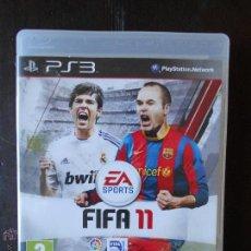 Videojuegos y Consolas: PS3 FIFA 11 - PLAYSTATION 3 - PAL ESPAÑA (4A). Lote 54803207
