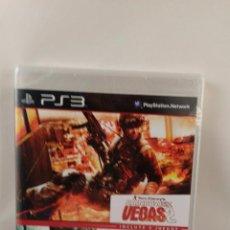 Videojuegos y Consolas: JUEGO PS3 RAINBOW SIX VEGAS 2 + GHOST RECON ADVANCED WARFIGHTER 2. NUEVO PRECINTADO. Lote 54916488
