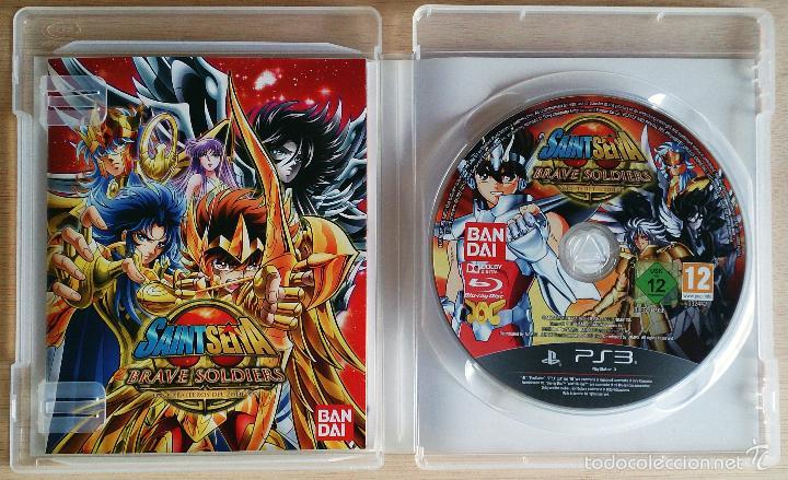 Videojuegos y Consolas: Saint Seiya / Brave Soldiers / Juego PlayStation 3 Play Station PS3 / PAL / Bandai 2013 - Foto 2 - 53884087