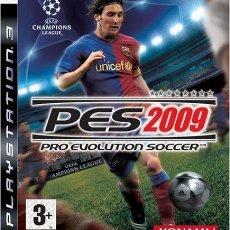 Videojuegos y Consolas: PES 2009 PRO EVOLUTION SOCCER PS3. Lote 52575139