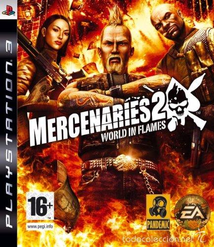 MERCENARIES 2 WORLD IN FLAMES PS3 (Juguetes - Videojuegos y Consolas - Sony - PS3)