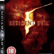 Videojuegos y Consolas: RESIDENT EVIL 5 PS3. Lote 52575144