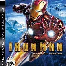Videojuegos y Consolas: IRON MAN PS3. Lote 52575146