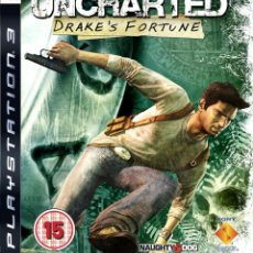 Videojuegos y Consolas: UNCHARTED DRAKE´S FORTUNE PS3. Lote 52575149