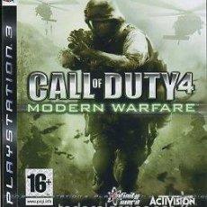 Videojuegos y Consolas: CALL OF DUTY 4 MODERN WARFARE PS3. Lote 52575174