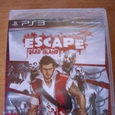 Videojuegos y Consolas: ESCAPE DEAD ISLAND - PS3 PLAYSTATION 3 - NUEVO PRECINTADO - ED ESPAÑA. Lote 56535853