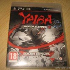 Videojuegos y Consolas: YAIBA NINJA GAIDEN Z EDICION ESPECIAL PS3 PAL ESPAÑA INCLUYE COMIC. Lote 56800874