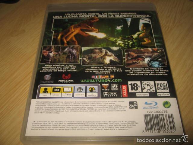 Videojuegos y Consolas: TUROK PS3 PAL ESPAÑA COMPLETO - Foto 2 - 56801377