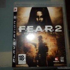 Videojuegos y Consolas: JUEGO PS 3 FEAR 2 . Lote 56891042