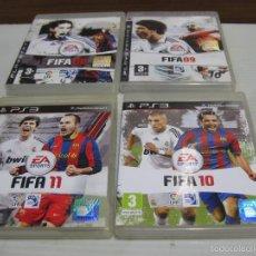 Videojuegos y Consolas: 4 FIFA 2008,09,10,11. Lote 57265090