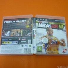 Videojuegos y Consolas: NBA 2K10- VIDEOJUEGO- PLAYSTATION 3. Lote 57340765