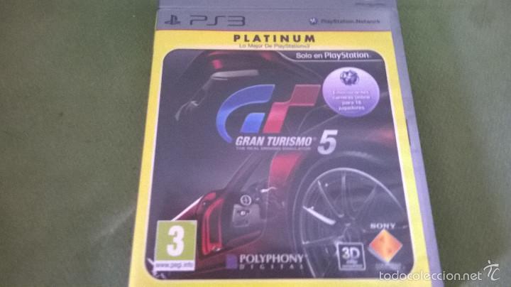 GRAN TURISMO 5 (Juguetes - Videojuegos y Consolas - Sony - PS3)
