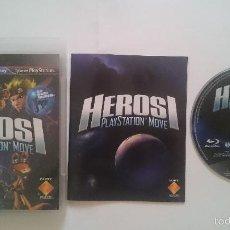 Videojuegos y Consolas: JUEGO HEROES MOVE SONY PAL PLAYSTATION 3 PS3 CASTELLANO. BUEN ESTADO. Lote 58292379