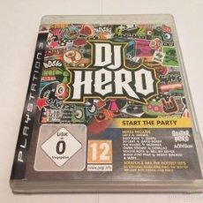 Videojuegos y Consolas: PS3 VIDEOJUEGO - DJ HERO. Lote 58517005