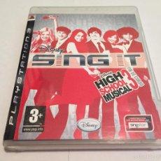 Videojuegos y Consolas: PS3 VIDEOJUEGO - SING IT HIGH SCHOOL MUSICAL 3. Lote 58517035