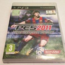 Videojuegos y Consolas: PS3 VIDEOJUEGO - PRO EVOLUTION SOCCER 2011. Lote 58517160
