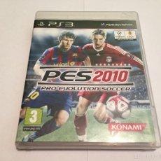 Videojuegos y Consolas: PS3 VIDEOJUEGO - PRO EVOLUTION SOCCER 2010. Lote 58517166