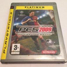 Videojuegos y Consolas: PS3 VIDEOJUEGO - PRO EVOLUTION SOCCER 2009 PLATINUM. Lote 58517184
