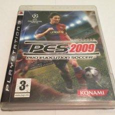 Videojuegos y Consolas: PS3 VIDEOJUEGO - PRO EVOLUTION SOCCER 2009. Lote 58517189