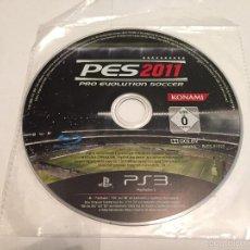 Videojuegos y Consolas: PS3 VIDEOJUEGO - PRO EVOLUTION SOCCER 2011 **SOLO DISCO**. Lote 58517301