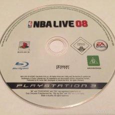 Videojuegos y Consolas: PS3 VIDEOJUEGO - NBA LIVE 2008 **SOLO DISCO**. Lote 58517314