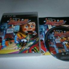 Videojuegos y Consolas: WILLIAMS PINBALL CLASSICS PLAYSTATION 3 PS3 PAL ESPAÑA. Lote 58525343