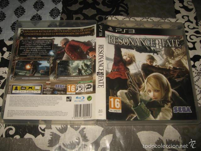 RESONANCE OF FATE PS3 PAL ESPAÑA COMPLETO - SEGA CULT GAME (Juguetes - Videojuegos y Consolas - Sony - PS3)