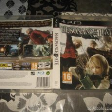 Videojuegos y Consolas: RESONANCE OF FATE PS3 PAL ESPAÑA COMPLETO - SEGA CULT GAME. Lote 59777016