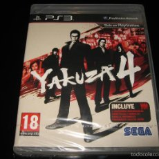 Videojuegos y Consolas: YAKUZA 4 PS3 PAL ESPAÑA PRECINTADO SEGA JUEGAZO TIPO SHENMUE. Lote 60341267