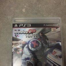 Videojuegos y Consolas: JUEGO PLAYSTATION PS3 MOTO GP 2010 2011 10 11. Lote 27946390