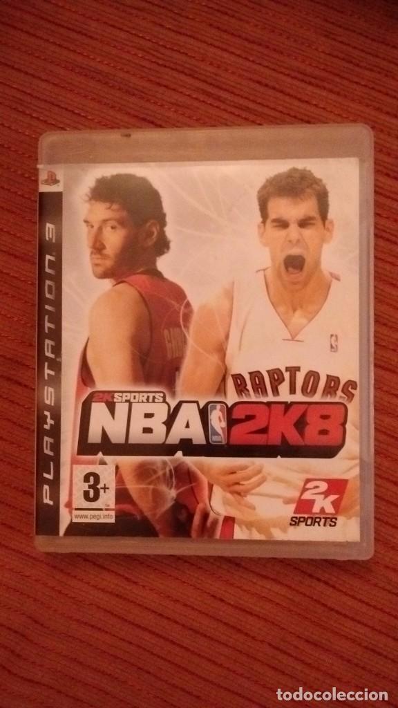 NBA 2K8 (Juguetes - Videojuegos y Consolas - Sony - PS3)