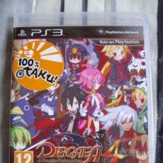 Videojuegos y Consolas: DISGAEA 4 A PROMISE UNFORGOTTEN - PS3 - NUEVO - PRECINTADO - EDICION ESPAÑA. Lote 61677700