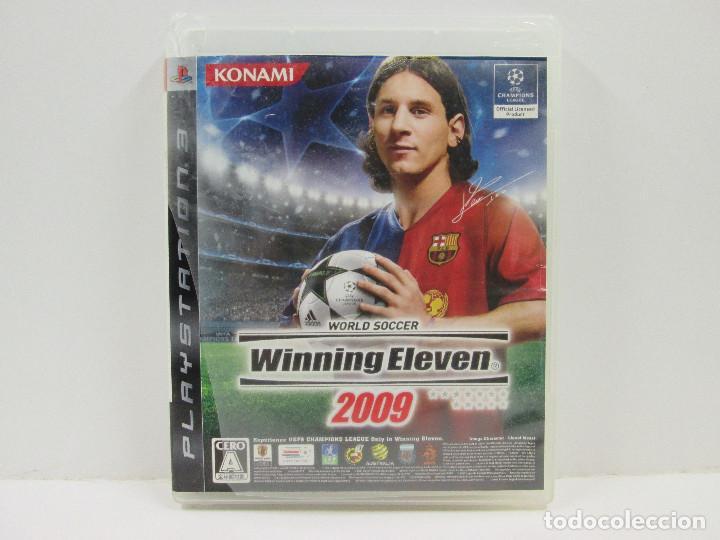 WINNING ELEVEN 2009 PLAYSTATION 3 NTCS-J COMPLETO (Juguetes - Videojuegos y Consolas - Sony - PS3)