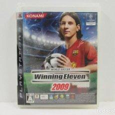 Videojuegos y Consolas: WINNING ELEVEN 2009 PLAYSTATION 3 NTCS-J COMPLETO. Lote 65687226