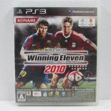 Videojuegos y Consolas: WINNING ELEVEN 2010 PLAYSTATION 3 NTCS-J COMPLETO. Lote 65687746