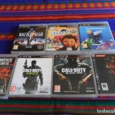 Videojuegos y Consolas: METAL GEAR SOLID 4 CALL OF DUTY BLACK OPS MODERN WARFARE 3 BATTLEFIELD 3 EYEPET BROTHERS IN ARMS..... Lote 66455546