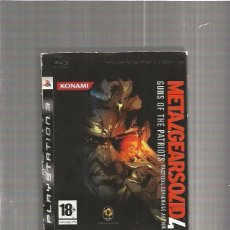 Videojuegos y Consolas: METAL GEAR SOLID 4 PLAYSTATION 3. Lote 67658921