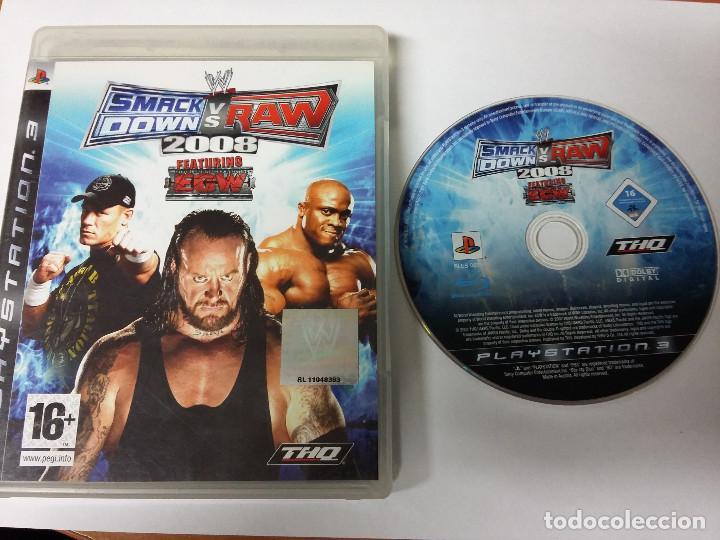 SMACK DOWN VS RAW 2008 - PS3 (Juguetes - Videojuegos y Consolas - Sony - PS3)